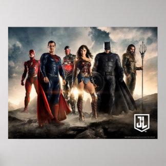 Poster Ligue de justice de la ligue de justice | sur le