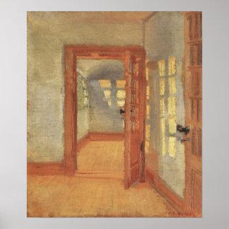 Poster L'impressionisme vintage, logent l'intérieur, Anna