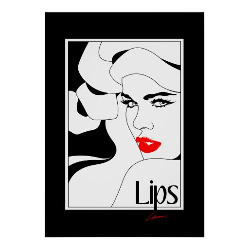Poster Lips Original