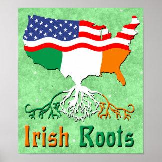 Poster L'Irlandais américain enracine l'affiche