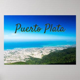 Poster L'Océan Atlantique | Puerto Plata
