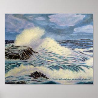 Poster L'océan - une force de nature