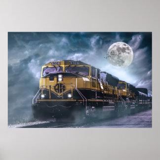 Poster Locomotive