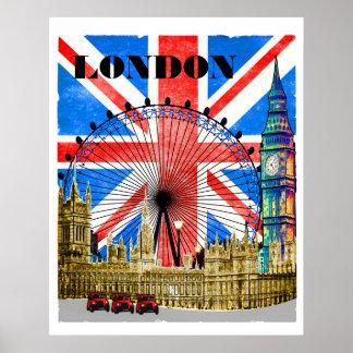 Poster Londres Angleterre Big Ben