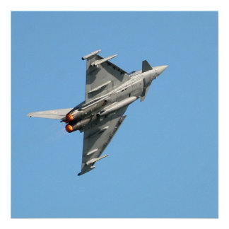"Poster L'ouragan 24"" d'Eurofighter x 24"""