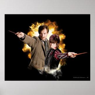 Poster Lupin de Remus et Tonks-Lupin de Nymphadora