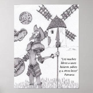 Poster M. Quixote de La Mancha