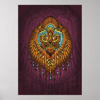 Poster Ma voix intérieure, tarot, force, innerpower