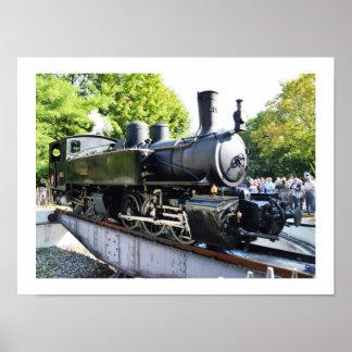 Poster Machine à vapeur, France