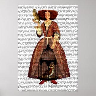 Poster Madame de hibou