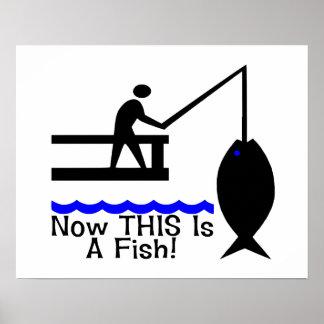 Poster Maintenant C'est un poisson