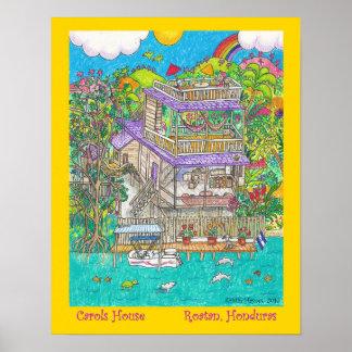 Poster Maison de hymnes de louange