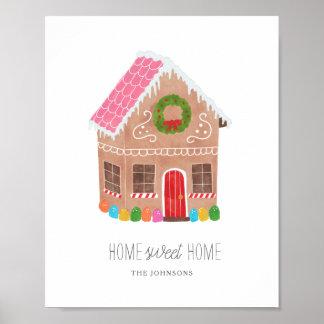 Poster Maison douce à la maison