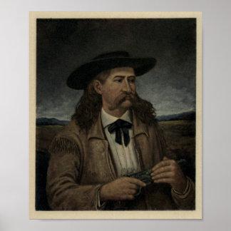 Poster Maître d'hôtel Wild Bill Hickok de James