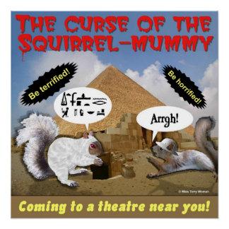 Poster Malédiction de la maman d'écureuil