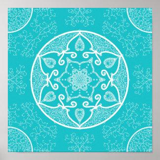 Poster Mandala d'Oceana