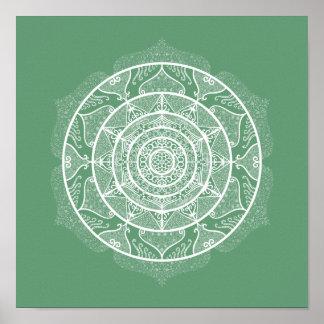 Poster Mandala sage
