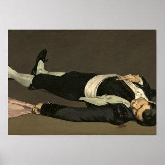 Poster Manet | le torero mort, c.1864