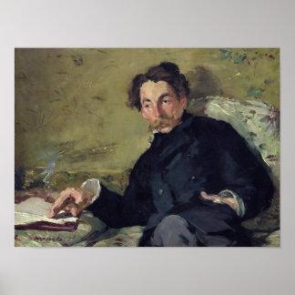 Poster Manet | Stephane Mallarme 1876