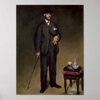 Poster Manet | Theodore Duret
