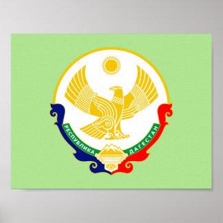 Poster Manteau des bras de Dagestan
