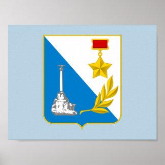 Poster Manteau des bras de Sébastopol