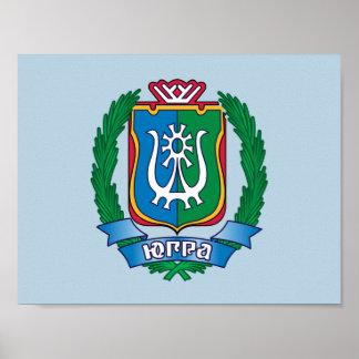 Poster Manteau des bras de Yugra