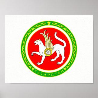 Poster Manteau des bras du Tatarstan