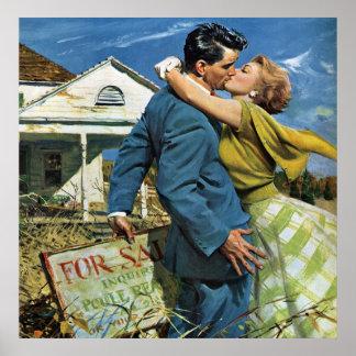Poster Mariage vintage, Chambre d'achat de nouveaux