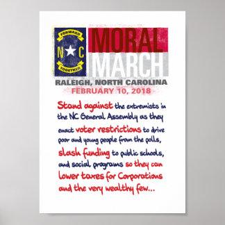 Poster Mars moral Raleigh 2018