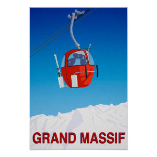 Poster Massif grand