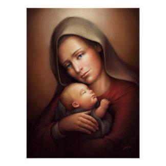 Poster Maternité divine
