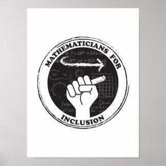 Poster Mathématiciens pour l'affiche d'inclusion