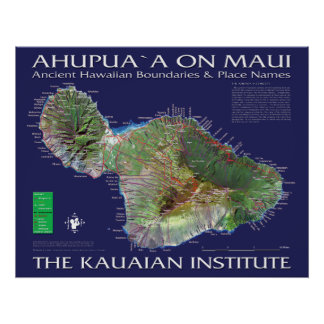 Poster Maui Ahupuaa