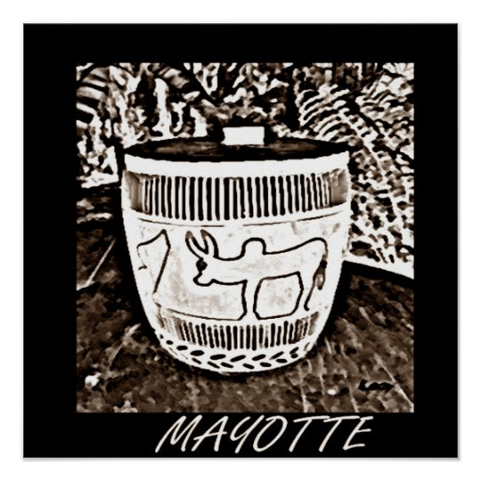 POSTER MAYOTTE ART