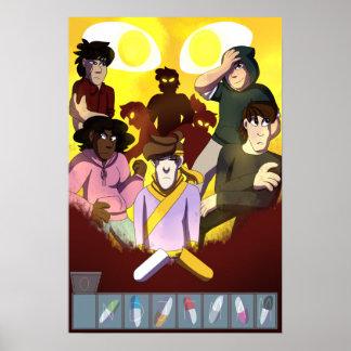 Poster Membre 1 de pilules de puissance : Affiche de