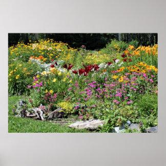 Poster Mi jardins colorés d'été ! 2, affiche 36x24