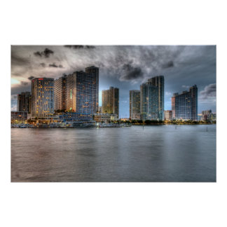 Poster Miami, la Floride