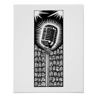 Poster Microphone #1