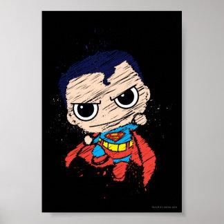 Poster Mini croquis de Superman - vol