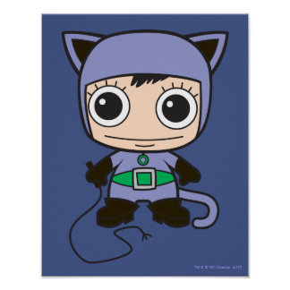 Poster Mini femme de chat