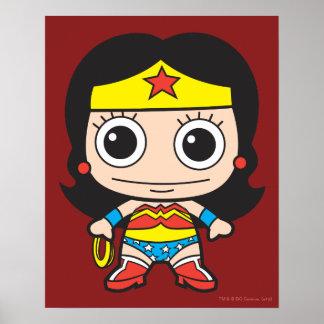 Poster Mini femme de merveille