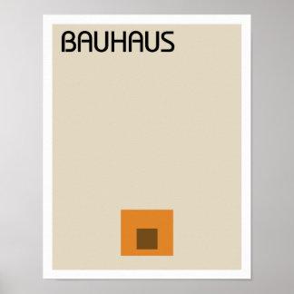 Poster Minimaliste de Bauhaus II