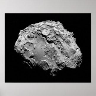 Poster Mission de la comète 67P Churyumov-Gerasimenko