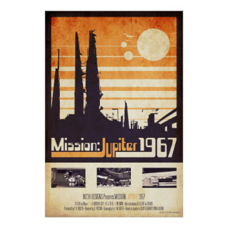 Poster Mission : Jupiter 1967