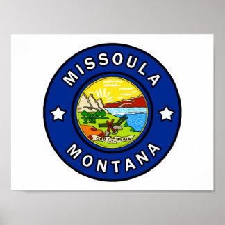 Poster Missoula Montana