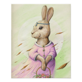 Poster Mme Rabbit
