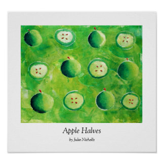 Poster Moitiés d'Apple