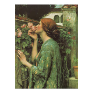 Poster Mon rose doux, ou âme du rose par le château d'eau