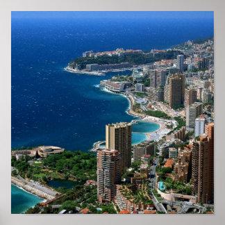 Poster Monaco -